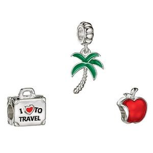 Cherished Memories Travel Charms